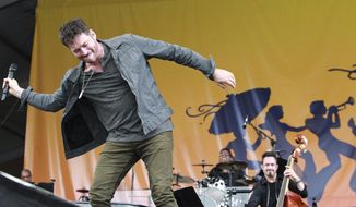 Harry Connick, Jr. peforms during the New Orleans Jazz and Heritage Festival at the Fairgrounds, Friday, April 25, 2017. (Ted Jackson/NOLA.com The Times-Picayune via AP)