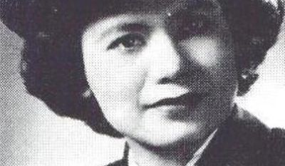 This undated photo provided by the United States Coast Guard shows Florence Ebersole Smith Finch. Finch, who joined the U.S. Coast Guard after surviving months of torture by the Japanese for helping Filipino guerrillas during World War II, will be buried with full military honors on Saturday, April 29, 2017 in Ithaca, N.Y. She died in December 2016 at age 101. (United States Coast Guard via AP)