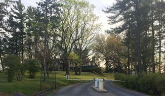 ADVANCE FOR USE SATURDAY, APRIL 29, 2017, AND THEREAFTER - This undated photo shows the Lieutenant Governor's residence off Fisher Avenue in East Hanover Township, Pa .The typically ignored home became the center of an unusual political controversy last week when Lieutenant Governor Mike Stack responded to reports that Gov. Tom Wolf had ordered an investigation into allegations that Stack verbally abused staff and asked state police to use lights and sirens while driving him in non-emergency situations. (Daniel Walmer/Lebanon Daily News via AP)