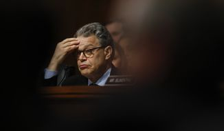 Sen. Al Franken is one of the Senate Democrats being closely watched as Trump advisers have particular concern about Minnesota Supreme Court Justice Joan Larsen, who was nominated to the 6th U.S. Circuit Court of Appeals. (Associated Press/File)