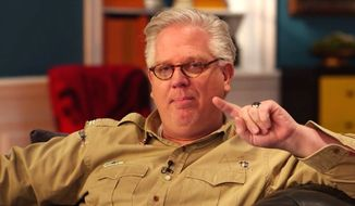 "The Blaze founder Glenn Beck warned CBS ""Late Night"" host Stephen Colbert on Thursday: ""You have become me, circa 2009."" (The Blaze video screenshot)"