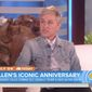 """Ellen DeGeneres told """"Today"""" show host Matt Lauer in an interview aired Friday that she has no desire to host President Trump on her daytime talk show because he goes against """"everything"""" she stands for. (NBC)"""