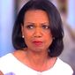 "Former Secretary of State Condoleezza Rice discusses President Donald Trump while on ABC's ""The View,"" May 9, 2017. (YouTube, The View, screenshot)"