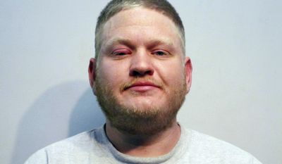 FILE - This Nov. 2, 2016, file booking photo provided by the Rochester, N.H., police department shows former New Hampshire state Rep. Kyle Tasker, arrested the previous day and charged with Driving While Under the Influence. The former lawmaker is scheduled to plead guilty on Tuesday, May 9, 2017, in Rochester, to charges of drug possession and trying to lure a 14-year-old girl over Facebook into a sexual encounter. (Rochester Police Department via AP, File)