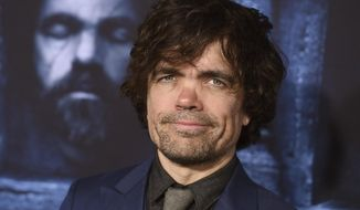 "FILE - In this April 10, 2016 file photo, actor Peter Dinklage attends the season six premiere of ""Game Of Thrones"" in Los Angeles. HBO says Dinklage of ""Game of Thrones"" will portray Herve Villechaize, the late actor who played Tattoo on TV's ""Fantasy Island,"" in a movie. (Photo by Jordan Strauss/Invision/AP, File)"
