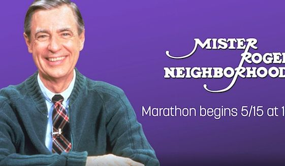 "An marathon of 886 episode of ""Mister Rogers' Neighborhood"" will stream May 15, 2017, on Twitch. (Image: Twitch screenshot)"