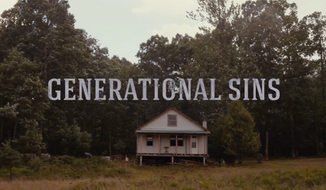 """Screen capture from the trailer for """"Generational Sins,"""" a drama by Christian filmmakers set for release in August 2017 that is stirring controversy due to uncensored expletives used by characters in the film."""