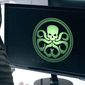 """A character from ABC's """"Agents of S.H.I.E.L.D."""" looks at a symbol for the terrorist group Hydra. (YouTube, Marvel) ** FILE **"""