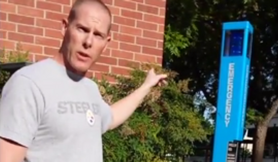 Pro-life students are suing Fresno State University professor Gregory Thatcher, seen here in a screen grab from a video posted online by Alliance Defending Freedom, for what the students said was a violation of their rights to free speech.