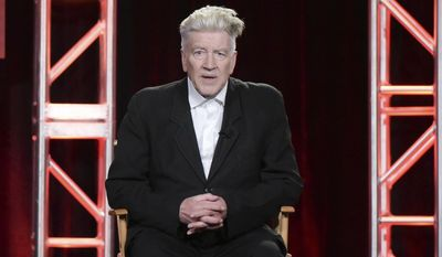 "FILE - In this Monday, Jan. 9, 2017, file photo, David Lynch attends the ""Twin Peaks"" panel at the Showtime portion of the 2017 Winter Television Critics Association press tour in Pasadena, Calif. Lynch is this year's winner of the Edward MacDowell Medal in the Arts, a prize bestowed by the venerable MacDowell Colony for artists. MacDowell officials announced Sunday, May 14, that Lynch will receive the medal Aug. 13 at a public ceremony at the colony, based in Peterborough, N.H. (Photo by Richard Shotwell/Invision/AP, File)"