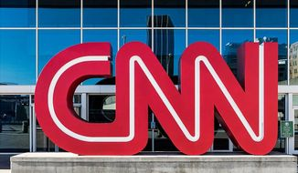 """CNN is """"obsessed"""" with President Trump, and not in a good way says a new report from conservative press watchdog, Newsbusters.org. (Associated Press)"""