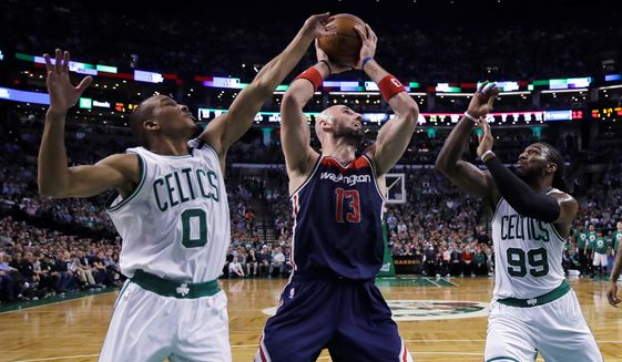 While Washington Wizards center Marcin Gortat's offensive role has evolved in recent seasons, his durability has not. Gortat played in every game this season and 97.6 percent of regular season games in the last four with the Wizards. (Associated Press)