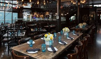 The interior of Blackwall Hitch.  (Blackwall Hitch)