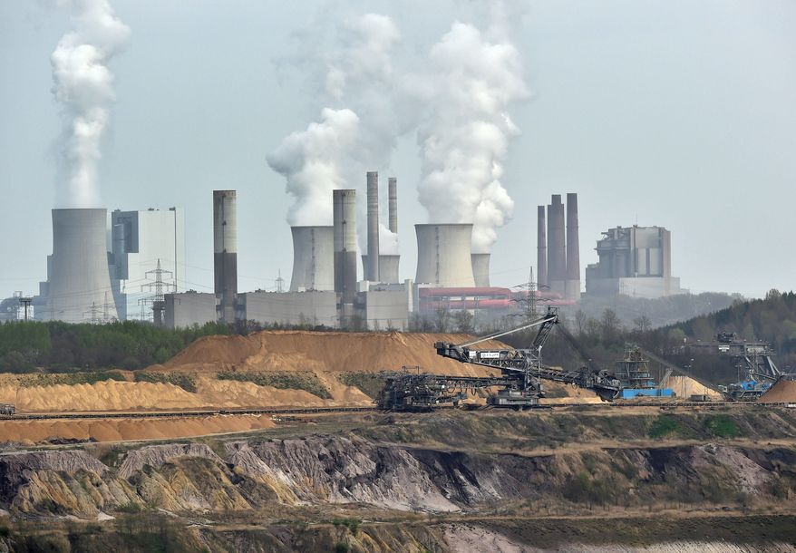 Under the Paris pact, the U.S. promised to slash carbon emissions at least 26 percent by 2025, though the Chinese seemingly weren't concerned by the terms. (Associated Press)