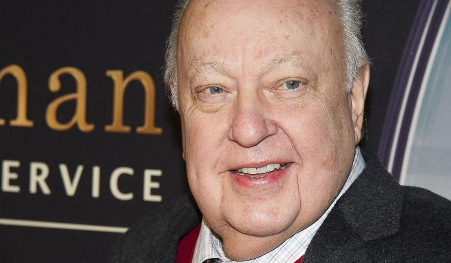"""n this Feb. 9, 2015, file photo, Roger Ailes attends a special screening of """"Kingsman: The Secret Service"""" in New York.  Fox News said on Thursday, May 18, 2017, that Ailes has died. He was 77. (Photo by Charles Sykes/Invision/AP, File)"""