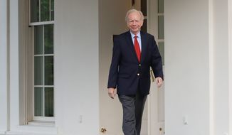Former Connecticut Sen. Joseph Lieberman is being vetted as a possible replacement for James B. Comey as the head of the FBI, the White House said. (Associated Press)