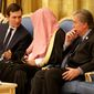 White House senior adviser Jared Kushner (left) is traveling with his father-in-law, President Trump, to the Middle East, providing evidence that Mr. Trump increasingly relies on Mr. Kushner, and leading to increased speculation as to how he may figure into Mr. Trump's attempts to broker a Middle East peace process in the near-future. (Associated Press)