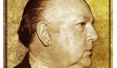 Illustration of Roger Ailes    The Washington Times