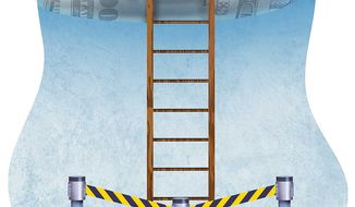State Licensing is a Roadblock to Success Illustration by Greg Groesch/The Washington Times