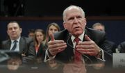 Former CIA Director John Brennan testifies on Capitol Hill in Washington, Tuesday, May 23, 2017, before the House Intelligence Committee Russia Investigation Task Force. (AP Photo/Pablo Martinez Monsivais)