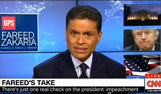 """The Media Research Center has cited some of the worst """"impeachment"""" talk featured on broadcast and cable networks. (Media Research Center image)"""