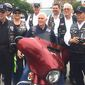 """Vice President Mike Pence has long supported Rolling Thunder, Inc.  Last May, as Indiana's governor, Mr. Pence joined with chapter members of Indiana's Rolling Thunder and tweeted, """"Honored to lead the first leg of Rolling Thunder's 'Ride for Freedom' from Indy to DC in support of our POWs & MIAs."""""""