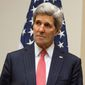 John Kerry. (Associated Press) ** FILE **