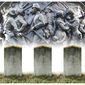 Illustration on Confederate soldiers buried in Arlington Cemetery by Alexander Hunter/The Washington Times