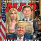 The cover of the August 2017 edition of MAD. Image provided as exclusive to The Washington Times. (MAD)