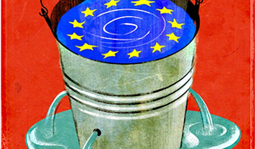 Illustration on the sate of the European Union by Daniel Marsula/Tribune Content Agency