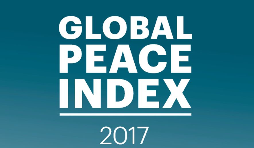 The annual Global Peace index does not have the best news for the U.S. (Institute for Economics and Peace)