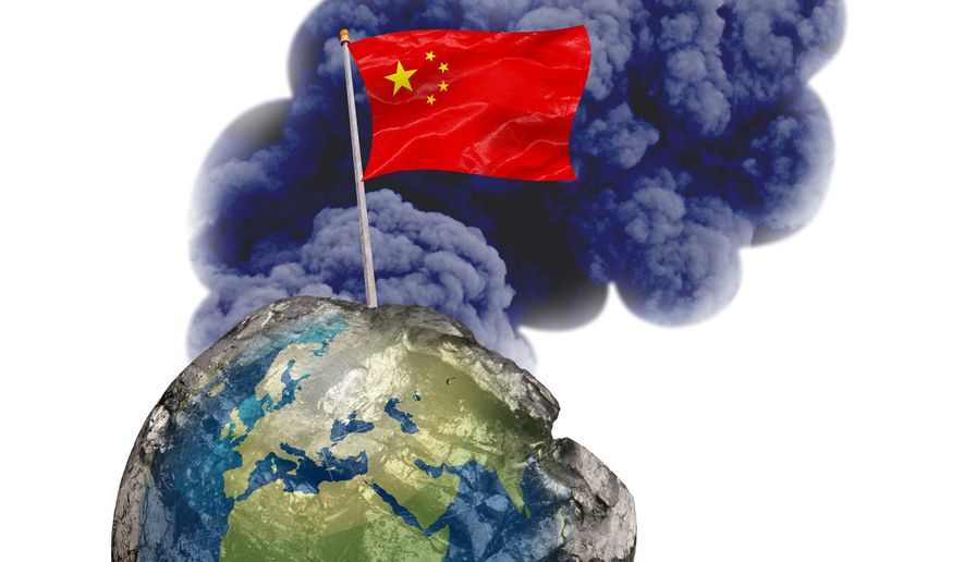 China Pollution Illustration by Greg Groesch/The Washington Times