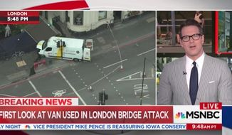 """MSNBC anchor Thomas Roberts speculated on-air Sunday about whether President Trump is trying to """"provoke"""" a terrorist attack in the United States just so he can """"prove himself right"""" on Islamic terrorism. (MSNBC)"""