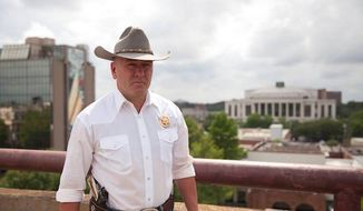 """Newly elected Rep. Clay Higgins is gaining widespread attention for a Facebook post in response to Saturday's London terrorist attack that called on the United States to hunt down radicalized Islamic suspects and """"kill them all."""" (Facebook/@Captain Clay Higgins)"""