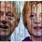 Illustration on the passing relevancy of the Clintons by Alexander Hunter/The Washington Times