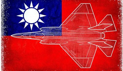 Selling F-35s to Taiwan Illustration by Greg Groesch/The Washington Times