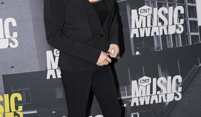 Reba McEntire arrives at the CMT Music Awards at Music City Center on Wednesday, June 7, 2017, in Nashville, Tenn. (Photo by Sanford Myers/Invision/AP)