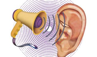 Hearing Aid Solutions Illustration by Greg Groesch/The Washington Times