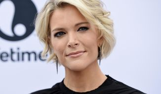 "In this Dec. 7, 2016, file photo Megyn Kelly poses at The Hollywood Reporter's 25th Annual Women in Entertainment Breakfast in Los Angeles. Kelly defended her decision to feature ""InfoWars"" host Alex Jones on her NBC newsmagazine despite taking heat Monday from families of Sandy Hook shooting victims and others, saying it's her job to ""shine a light"" on newsmakers. Critics argue that NBC's platform legitimizes the views of a man who, among other conspiracy theories, has suggested that the killing of 26 people at the Sandy Hook Elementary School in Newtown, Connecticut, in 2012 was a hoax. (Photo by Chris Pizzello/Invision/AP, File)"