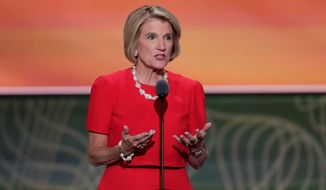 Republican Shelley Moore Capito is looking for a $45 billion commitment to ensure treatment for opioid addicts in her hard-hit state of West Virginia. (Associated Press)