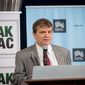 Rep. Mike Quigley, Illinois Democrat, addresses the first annual congressional iftar on Thursday, hosted by the Muslim Public Advocacy Council and the Pakistani American Political Action Committee to honor lawmakers promoting religious freedom and tolerance in public policy. (Courtesy of MPAC)