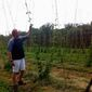 Jonathan Staples, owner of Black Hops Farm and Vanish Brewery in Lucketts, Virginia, says business is thriving. (Nicole Ault/The Washington Times)
