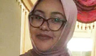 "This undated image provided by the Hassanen family shows Nabra Hassanen in Fairfax, Va. Police in Fairfax, Va., said Monday, June 19, 2017, that ""road rage"" was to blame for the slaying of a 17-year-old muslim girl who was walking with friends to her mosque between Ramadan prayers this weekend. Police have not identified Hassanen, but her father confirmed she was the victim in Sunday's attack. (Courtesy Hassanen Family via AP)"