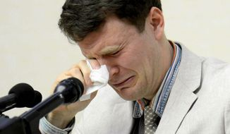 American student Otto Warmbier died in Ohio just a few days after being released from North Korea in a coma. He was held in North Korea for more than 17 months. (Associated Press)