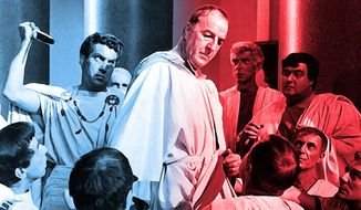 Illustration on the cultural importance of Shakespeare and his play, 'Julius Caesar'              The Washington Times