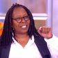 "Whoopi Goldberg of ABC's ""The View"" told her co-hosts on Wednesday, June 21, 2017, that she views Georgia's special election results as ""slow progress"" instead of a ""loss"" for the Democratic Party. Georgia Republican Karen Handel defeated challenger Jon Ossoff with 52 percent of the vote. (ABC ""The View"" screenshot)"