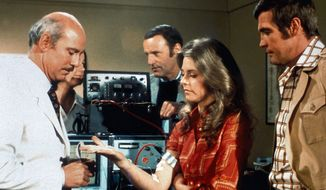 The Six Million Dollar Man with the Bionic Woman. (Courtesy of Universal Studios Home Entertainment)