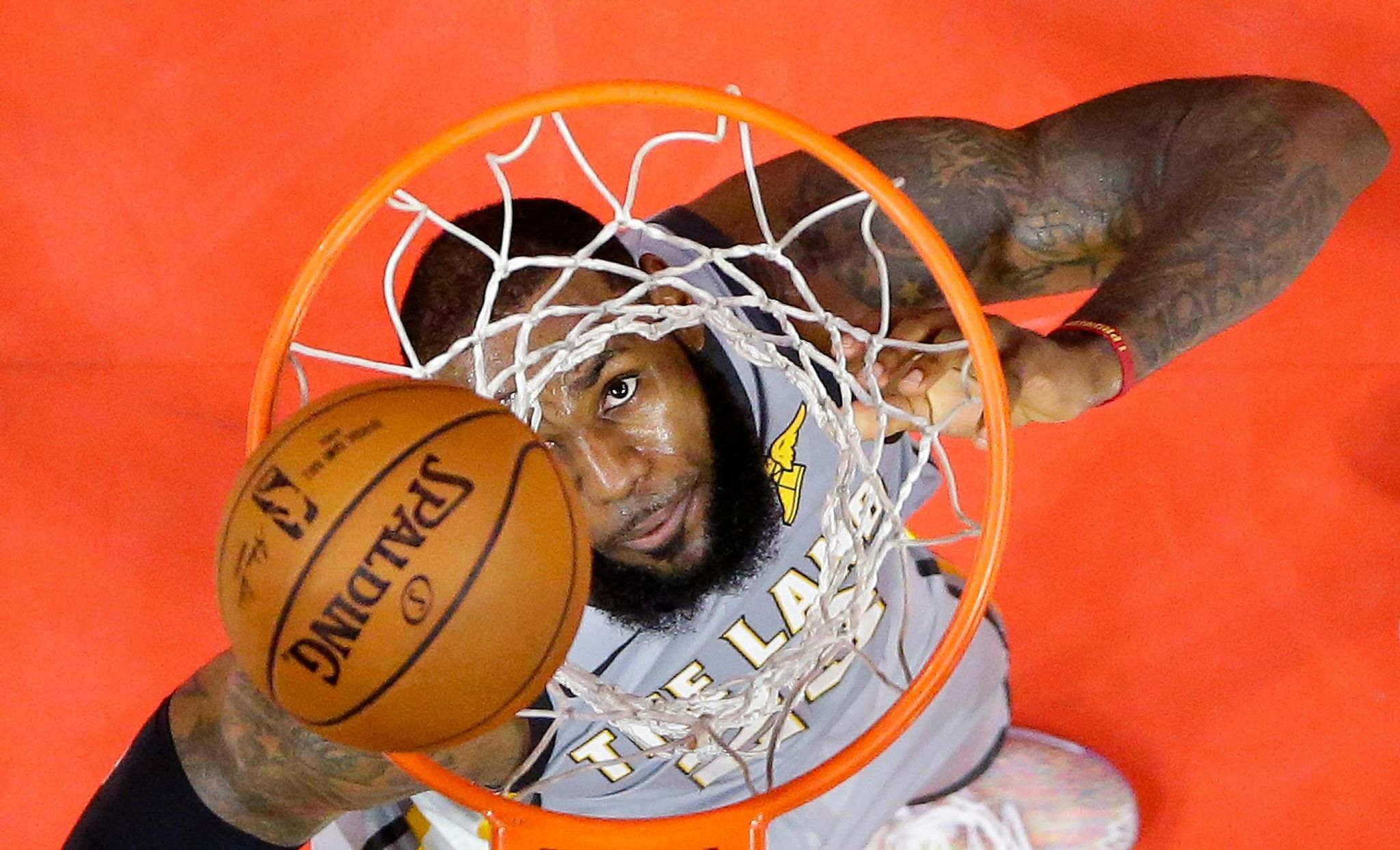 Box out: LeBron has knack for first-round playoff knockouts