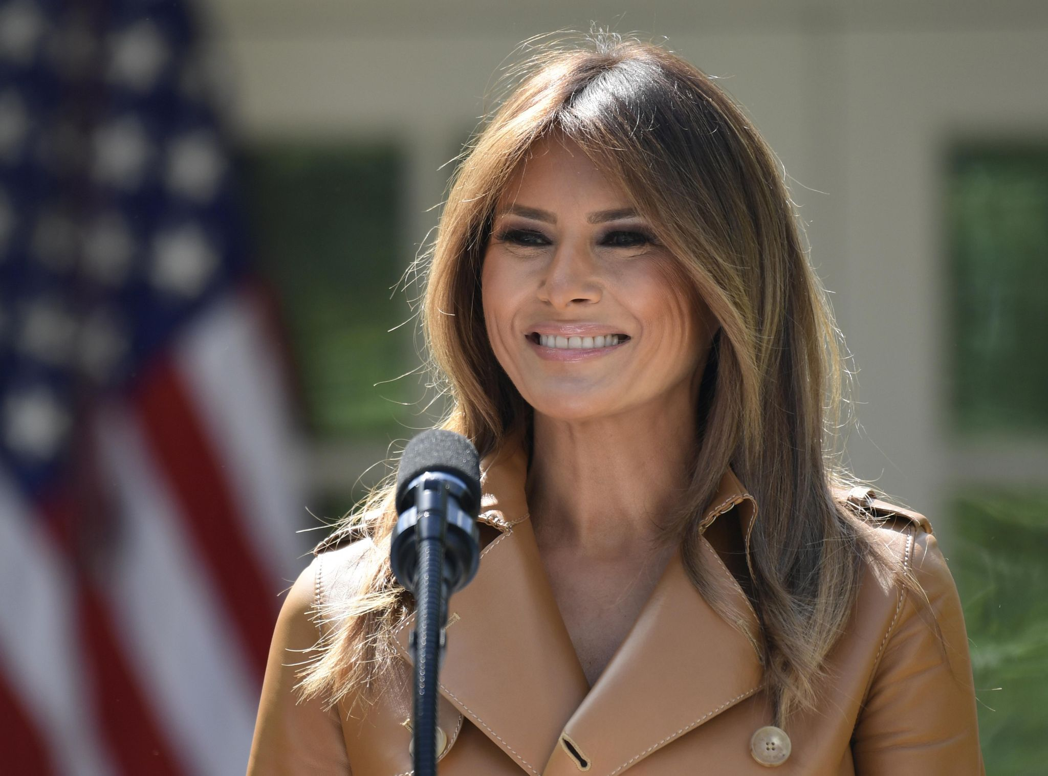 The Latest: First lady to remain hospitalized 2-3 days