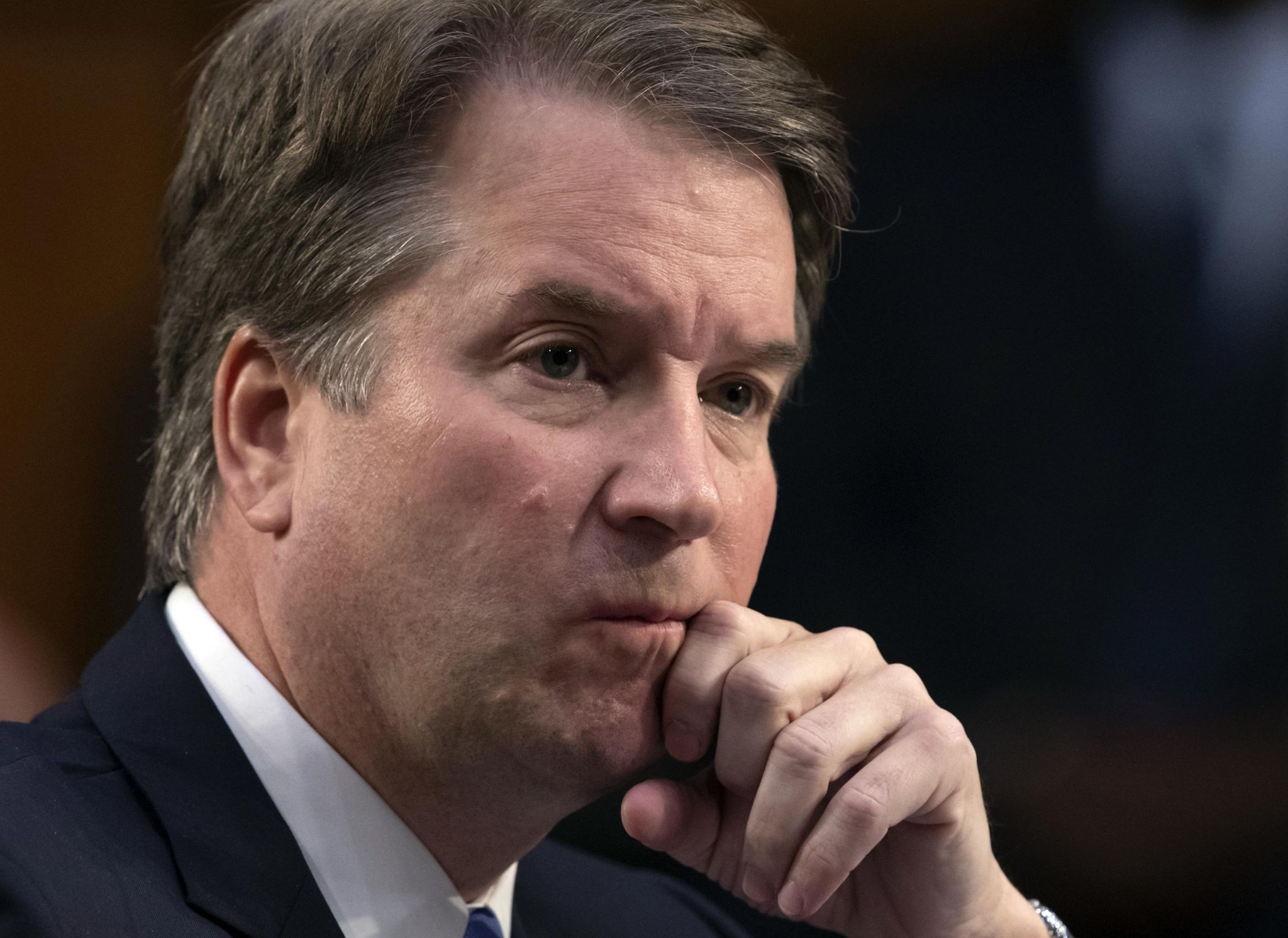 The Latest: No indication GOP plans to delay Kavanaugh vote